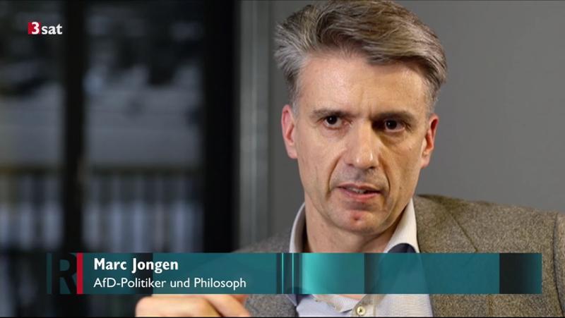 Marc Jongen 3sat Die AfD und die Kultur