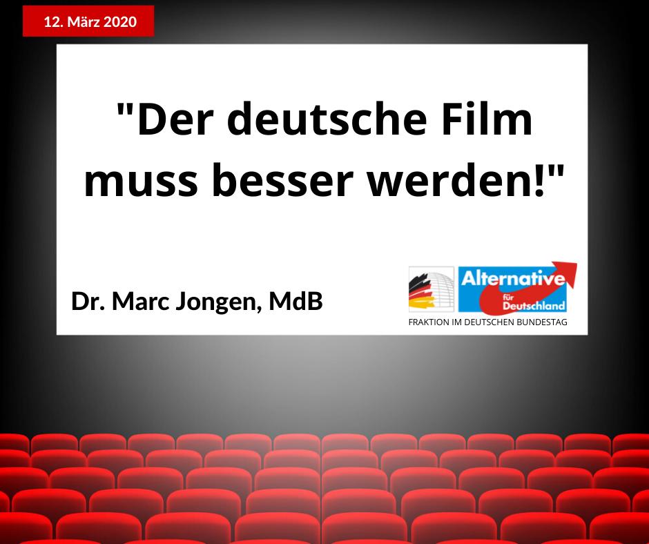 Der deutsche Film muss attraktiver werden – für eine Reform der Filmförderung